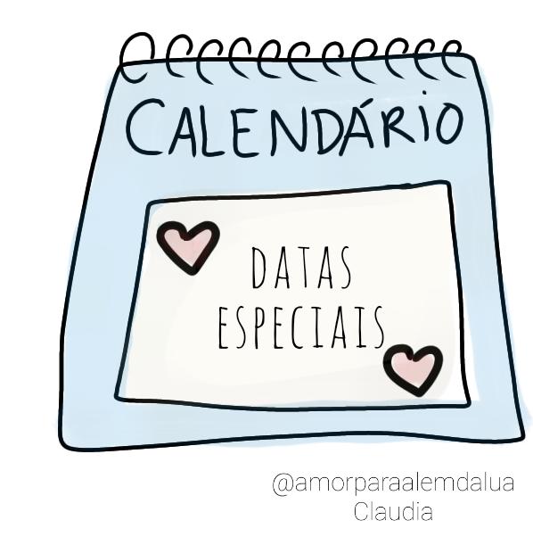 datas especiais